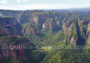 Panorama parc national Amboro