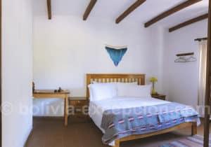Chambre matrimoniale, Refugio Los Volcanes