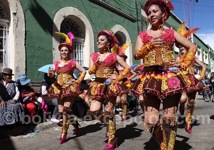 Le carnaval d'Oruro en famille