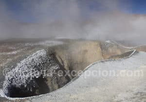 Gouffre geysers Sol de Mañana