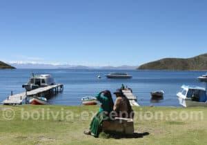 Isla del Sol, port de Challapampa
