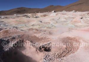 Sol de Mañana, Bolivie