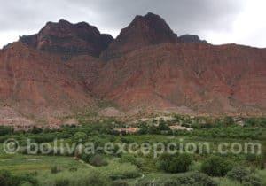 Excursion dans la vallées de Los Cintis