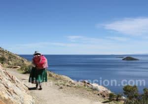 Marche sur l'île del Sol