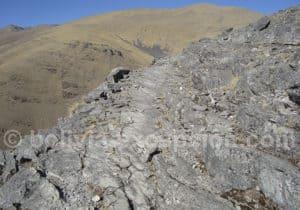 Randonnée chemin inca, réserve de Sama