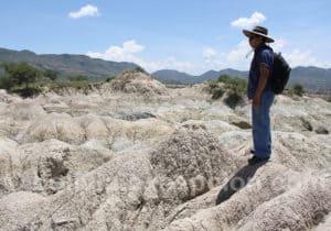 Visite guidé du site paléontologique de Rujero